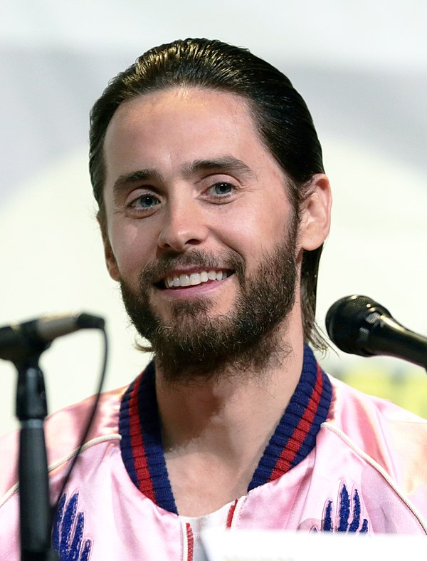 Photo Jared Leto via Wikidata