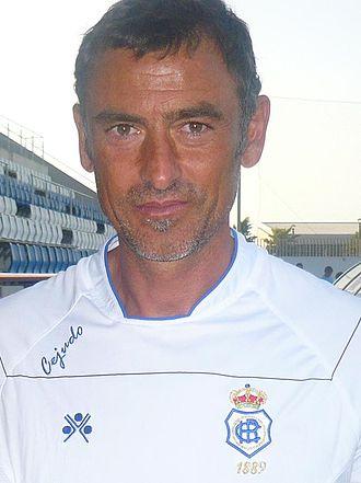 Francisco Javier López Castro - López as a Recreativo manager