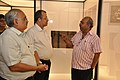 Jayanta Sengupta Visits With Shrikant Pathak And Manash Bagchi - Objects In CRTL Archive Exhibition - NCSM - Kolkata 2018-05-18 0718.JPG
