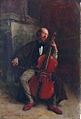 Jean-Louis-Ernest Meissonier, Portret van de cellist Alexander Batta (1855).jpg