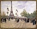 Jean Béraud - Entrée de l'exposition universelle de 1889 - P1654 - musée Carnavalet - 4.jpg