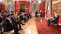Jefa de Estado participó en un encuentro con el economista e intelectual Jeremy Rifkin. Participa también Craig Calhoun, director del London School of Economics (15668162973).jpg