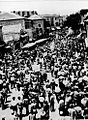 Jerusalem, Jaffa Road, a Jewish demonstration protesting against the White Paper's decisions. 1939 (id.14562785).jpg