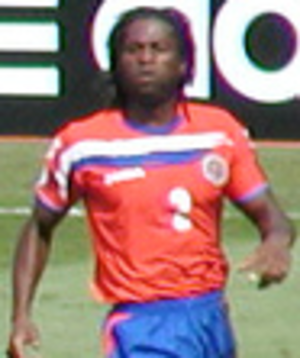Jervis Drummond - Drummond playing for Costa Rica at the 2006 FIFA World Cup