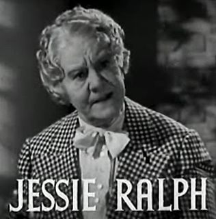Jessie Ralph American actress