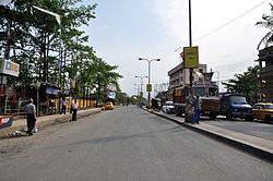 Jessore Road at Dum Dum