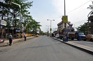 Jessore Road - Jessore Road at Dum Dum, Kolkata