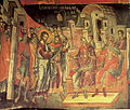 Jesus before Pontius Pilate - Stavronikita monastery, Mt Athos - Theophanes of Crete, 16th c..jpg