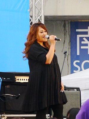 Jia Jia (singer) - Jia Jia at Kaohsiung National Stadium on December 30, 2012