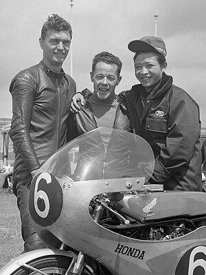 Kunimitsu Takahashi - Jim Redman, Luigi Taveri and Kunimitsu Takahashi (1963)