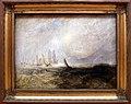Jmw turner, pescherecci che trascinano una nave danneggiata nel porto di ruysdael, ante 1844.jpg
