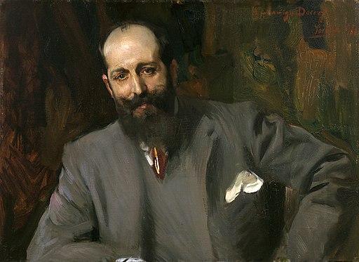 Joaquín Sorolla - Retrato del doctor Joaquín Decref y Ruiz