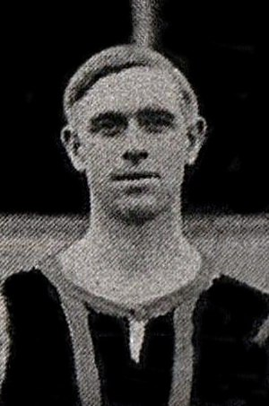 Joe Hisbent - Hisbent while with Brentford in 1909