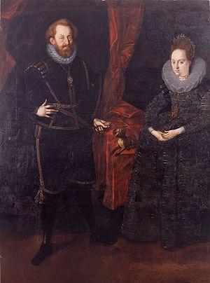 John George I, Prince of Anhalt-Dessau - John George I and his second wife Countess Palatine Dorothea of Simmern.