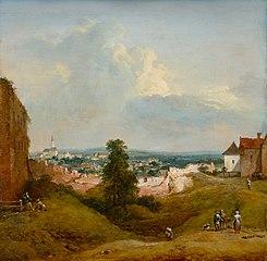 Aussicht von der Albrechtsburg in Klosterneuburg