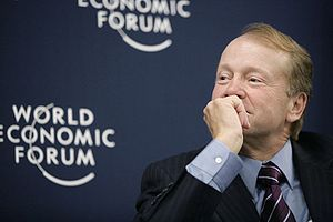 John T. Chambers - Chambers at the World Economic Forum (2007).