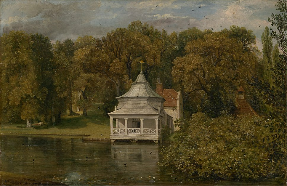 John Constable - The Quarters behind Alresford Hall - Google Art Project