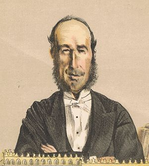 John George Dodson, 1st Baron Monk Bretton - John George Dodson, detail of the lithographic reproduction, after James Tissot, published in ''Vanity Fair'', 16 December 1871.