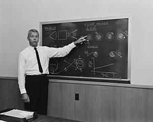 John Houbolt - John Houbolt explains Lunar orbit rendezvous