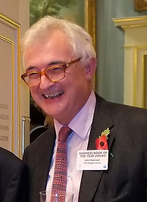 John Makinson - John Makinson on 3 November 2011