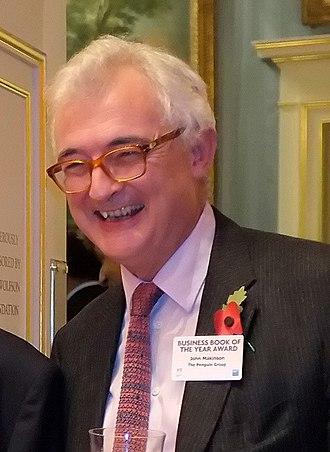John Makinson - John Makinson on 3 November 2011