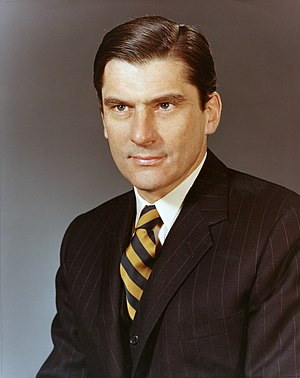 John Warner - John W. Warner as Secretary of the Navy