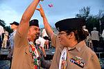 Joint Base San Antonio military ambassadors join Fiesta royalty, special guests to kick off Fiesta San Antonio 150416-N-UR169-023.jpg