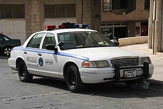 Al-Karak - Image: Jordanian Police Car