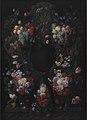 Joris van Son - Stone Cartouche with Fruit and Flower Garland - KMSsp289 - Statens Museum for Kunst.jpg