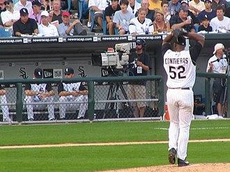 José Contreras - Contreras pitching