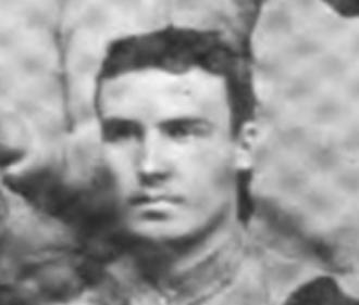 Joseph Colnon - Colnon pictured on the 1890 Cornell football team