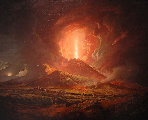 Joseph Wright of Derby - Vesuvius from Portici