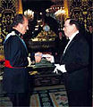 Juan Carlos I and George Argyros vivid Juan Carlos I and George Argyros 2001.jpg