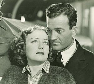 Milburn Stone - Judith Allen and Milburn Stone in Port of Missing Girls (1938)