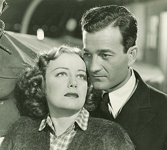 Milburn Stone - Judith Allen and Milburn Stone in The Port of Missing Girls (1938)