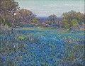 Julian Onderdonk - A field of Blue Bonnets, late afternoon sunlight (Panhandle–Plains Historical Museum).jpg