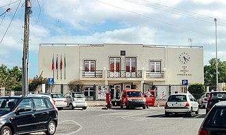 São Domingos de Rana - The Junta de Freguesia building of São Domingos da Rana