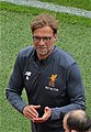 Jurgen Klopp leaves the pitch at full-time a happy man (34018926193) cropped.jpg