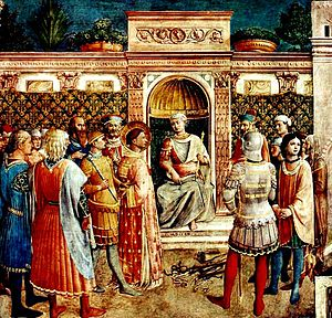 Junius Rusticus - Junius Rusticus presides over the trial of Justin Martyr