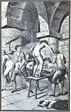 Justine ou les Malheurs de la vertu (orgy with a monk)
