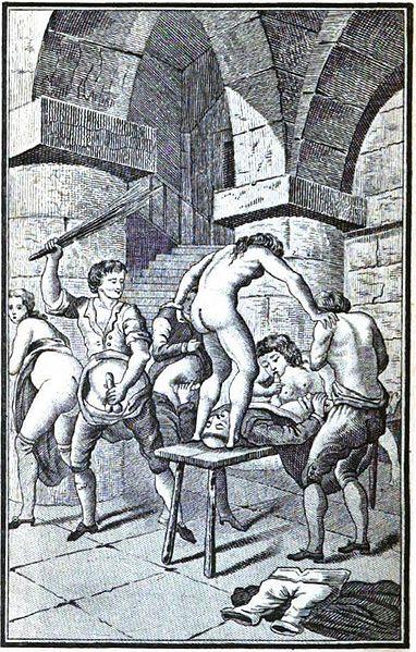 File:Justine ou les Malheurs de la vertu (orgy with a monk).JPG