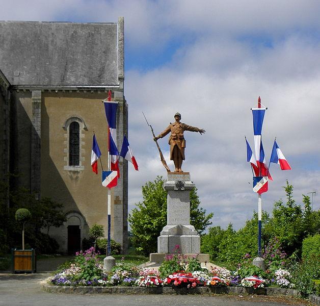 Monument aux morts de Juvigné (53).