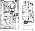 Köln Villa Bestgen, Architekten Wehling und Ludwig, Grundriss, Die Architektur des XX. Jahrhunderts - Zeitschrift für moderne Baukunst. Jahrgang 1905, 10.jpg