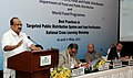 K.V. Thomas delivering the inaugural address at a workshop organized by Department of Food and World Food Programme.jpg