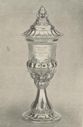 KBUs Pokalturnering - Image: KB Us Pokalturnering 2nd trophy won by Boldklubben af 1893