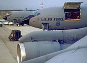 KC-135Es Maine ANG at Pisa Italy 1996