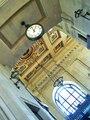 KC Grand Hall Clock and 3500 lb chandeliar.tif