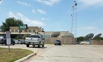 KDAF - Location of KDAF's studios and offices, in far northwest Dallas.