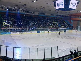 Dom Sportova - Dom sportova, KHL Medveščak Zagreb - Graz 99ers, 3 January 2010