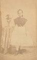 KITLV - 118374 - Anna Marie Philippina Vlier in Surinam - circa 1867.tif